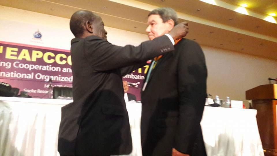 Vice President Edward Kiwanuka Ssekandi represented President Yoweri Museveni at EAPCCO AGM opening